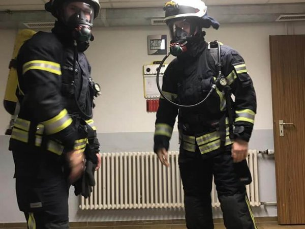 Atemschutzteststrecke