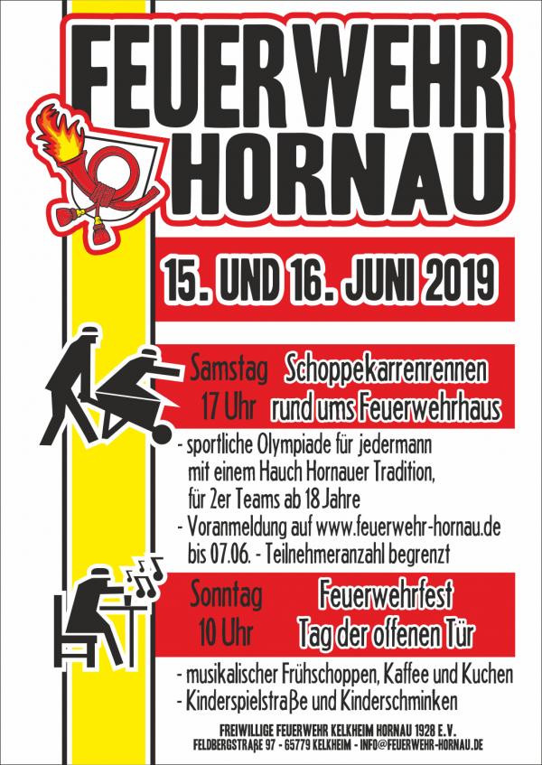 Feuerwehrfest Hornau