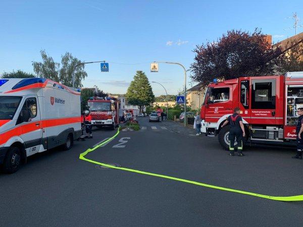 Übung der Feuerwehr!?