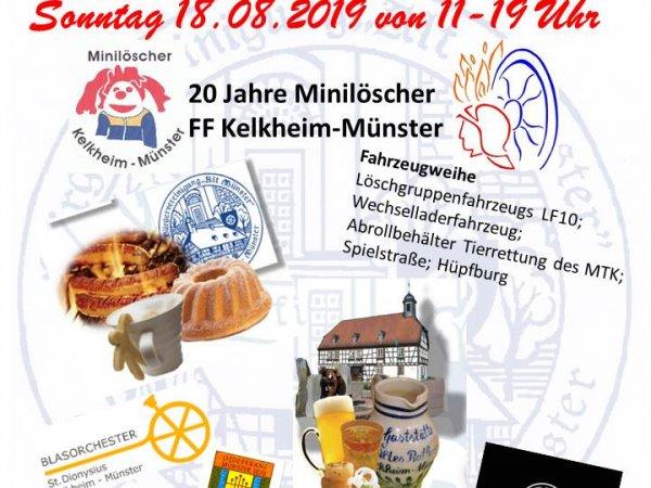 20Jahre Minilöscher & Fahrzeugeinweihung