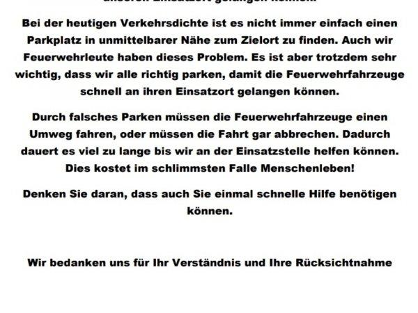 Falschparker…