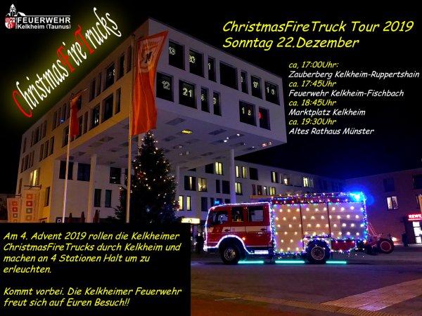 ChristmasFireTruck
