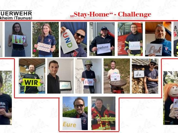 StayHome Challenge