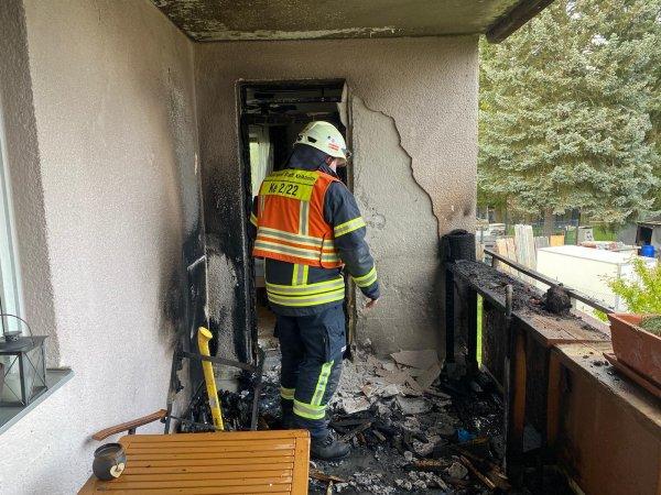Brand im Gebäude