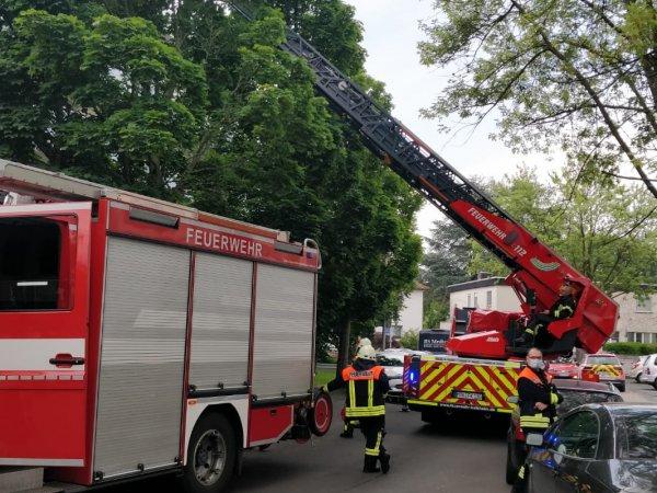 Brandgeruch in Mehrfamilienhaus
